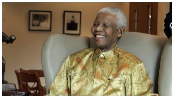 Nelson Mandela pada 2009