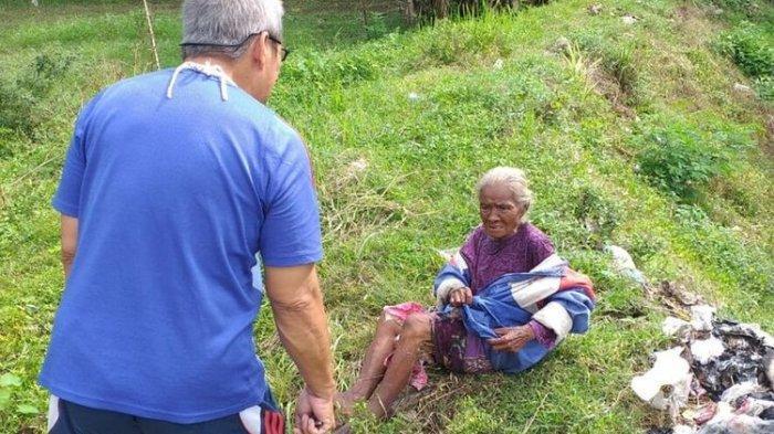 Nenek 70 Tahun dibuang di Bantul