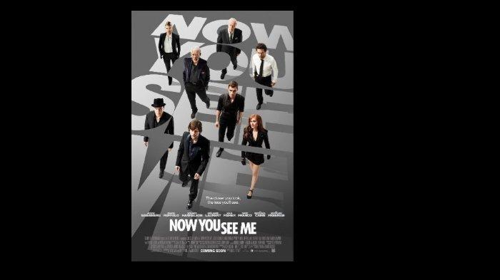 Film Now You See Me yang rilis pada 2013 (imdb.com)