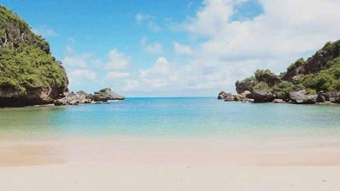 Pantai Ngrenehan Tribunnewswiki Com Mobile