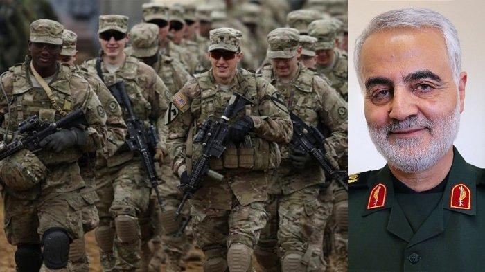 Usai serangan terhadap Jenderal Iran, Qasem Soleimani, Amerika Serikat kirimkan 3000 pasukan tambahan ke Timur Tengah