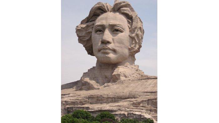 Patung Mao Zedong di Changsa