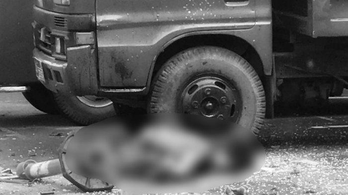 Pelaku bom bunuh diri hancur berkeping-keping di Polrestabes Medan, Rabu (13/11/2019)