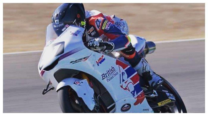 Pembalap Inggris Scott Ogden