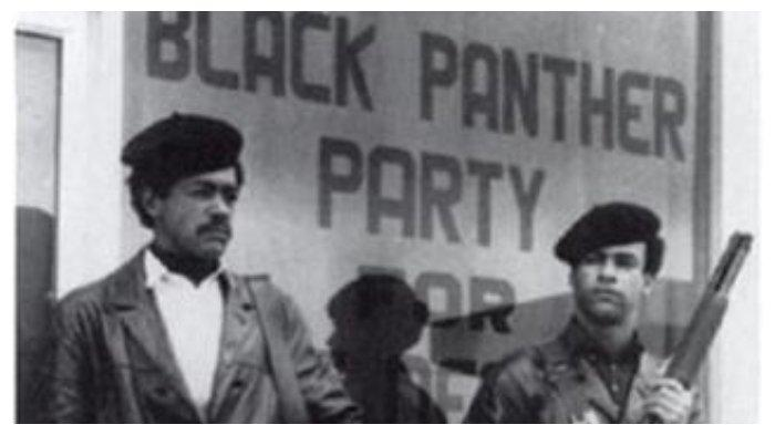 Dua pendiri Partai Black Panther
