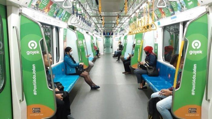 Selama PSBB Transisi, MRT Jakarta memberlakukan jadwal operasional dan pembelian tiket online.