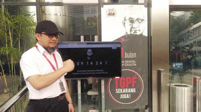 Penyidik Senior Komisi Pemberantasan Korupsi (KPK) Novel Baswedan di gedung KPK, Jakarta, Selasa (11/12/2018)