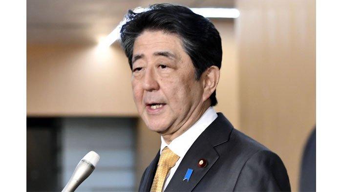 Perdana Menteri Jepang Shinzo Abe.(Kyodo via SCMP)