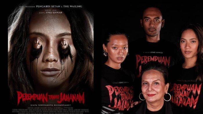 Official poster dan foto pemain film Perempuan Tanah Jahanam.