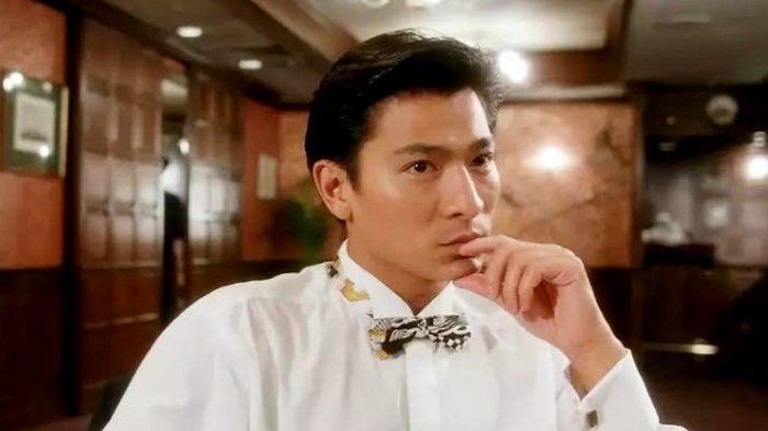 Andy Lau dalam Film Perfect Exchange (1993).