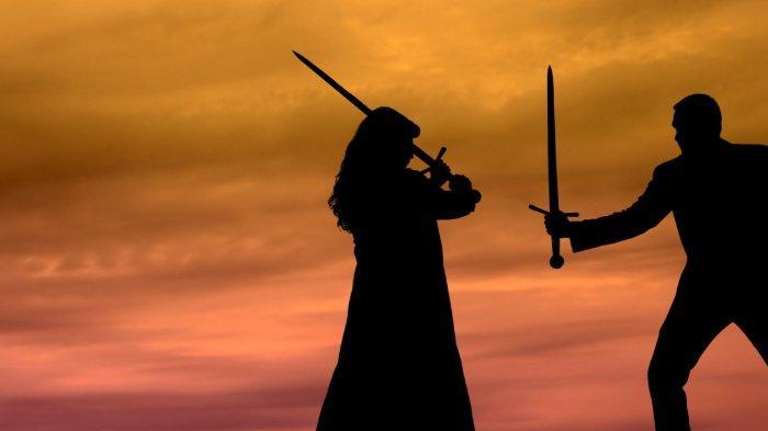 Bersengketa dengan mantan istri di pengadilan, seorang pria minta diadakan 'duel pedang katana'