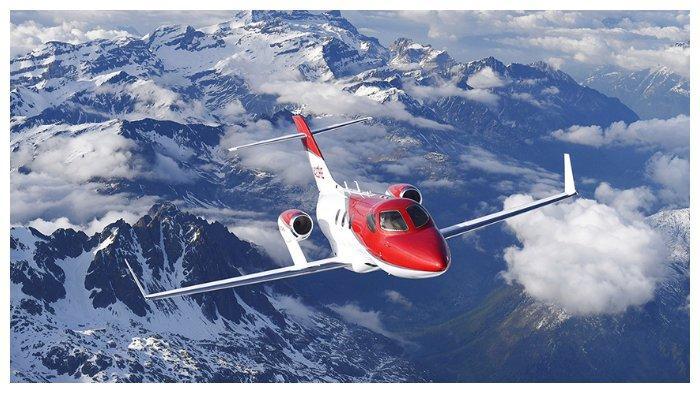 Pesawat jet yang diproduksi Honda