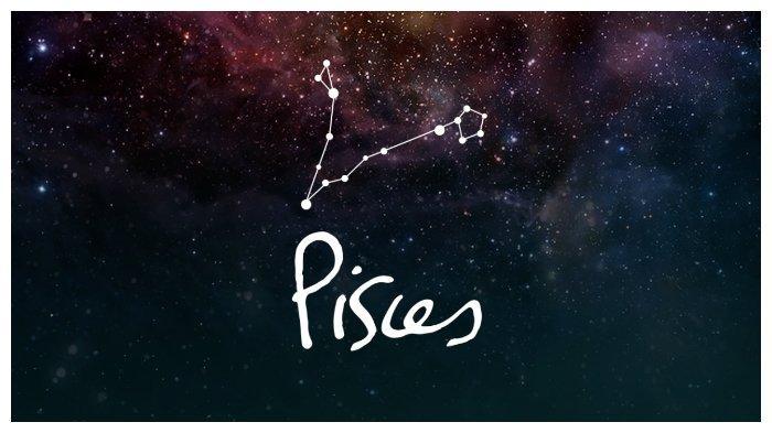 Simbol zodiak Pisces.