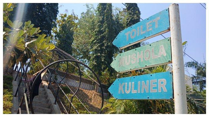 Plang di Goa Kreo Semarang