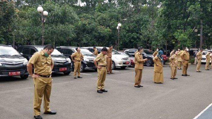 PNS dan ASN Kota Tangerang berjemur