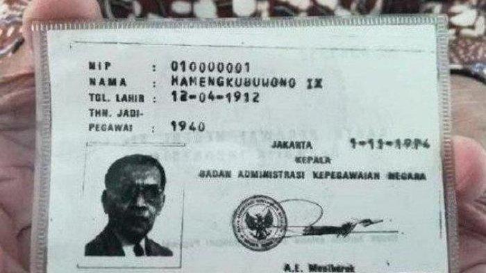 Ternyata inilah sosok PNS pertama di Indonesia, berstatus sultan, punya NIP 01000001 sejak belum merdeka.
