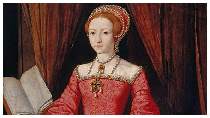 Potret Elizabeth I sebelum naik takhta
