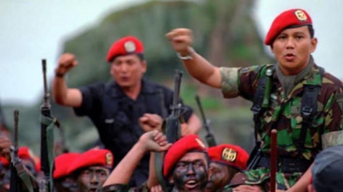 Prabowo Subianto pernah membentuk tim elit militer terbaik di dunia.