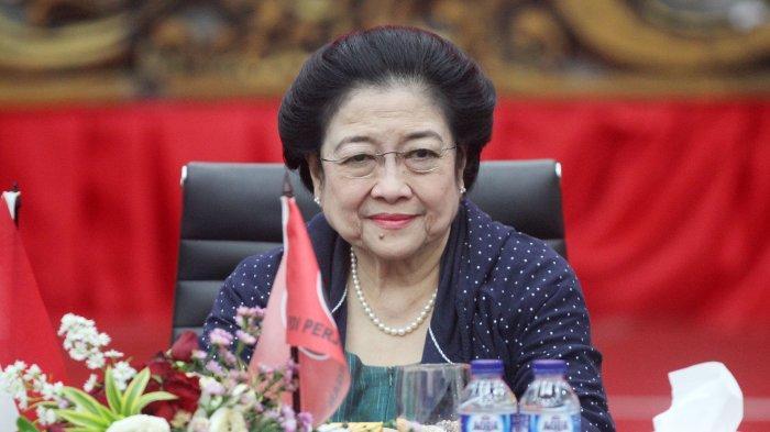 Presiden Megawati Soekarnoputri.