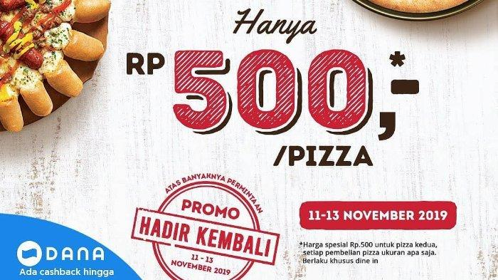 Promo Menarik Harbolnas 11 11 Pizza Hut Beri Promo Cuma Bayar Rp 500 Hingga Shopee Big Sale Halaman All Tribunnewswiki Com Mobile