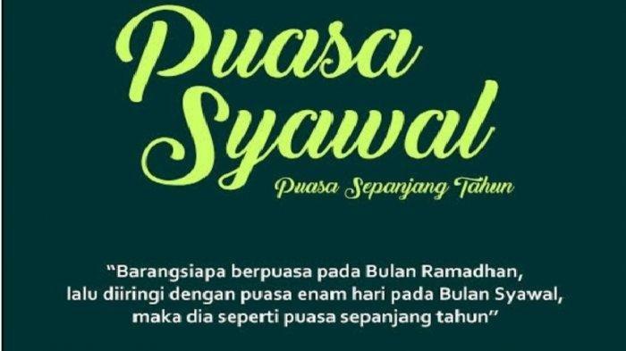 Puasa Syawal