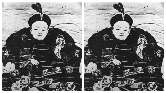 Puyi sudah menjadi kaisar ketika masih kecil