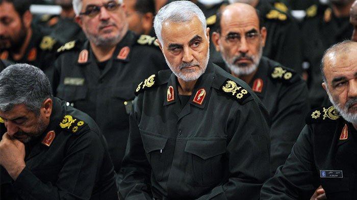 Komandan Pasukan Quds Iran, <a href='https://batam.tribunnews.com/tag/qasem-soleimani' title='QasemSoleimani'>QasemSoleimani</a>.(israelhayom.com)