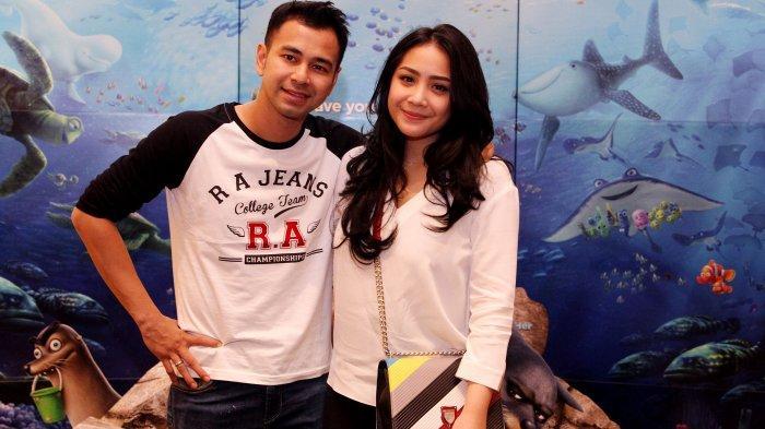 Pasangan selebritis Raffi Ahmad dan Nagita Slavina. (Tribunnews/Jeprima)