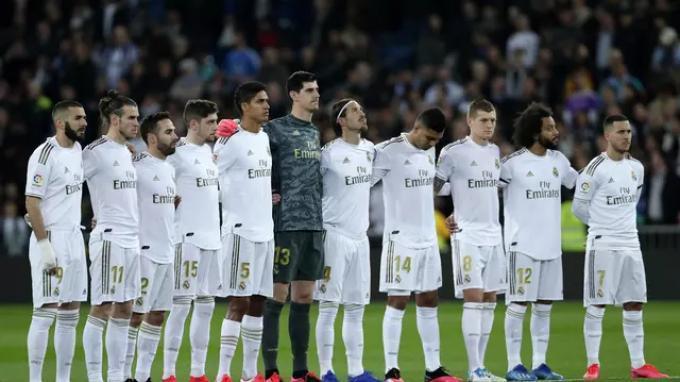Real Madrid musim 2019-20.