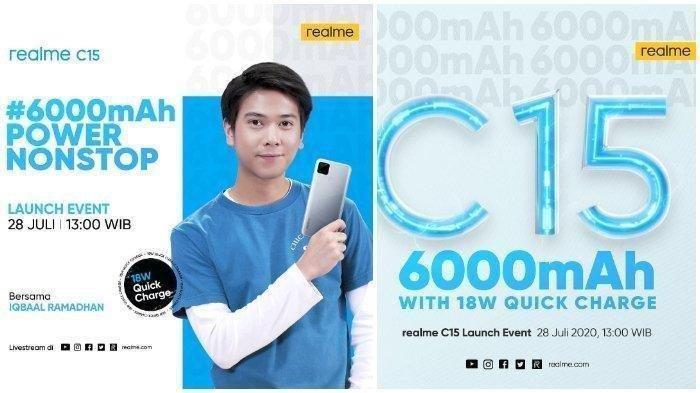 Berikut bocoran spesifikasi HP terbaru realme C15 yang segera rilis di Indonesia pada 28 Juli 2020. (Instagram @realmeindonesia)