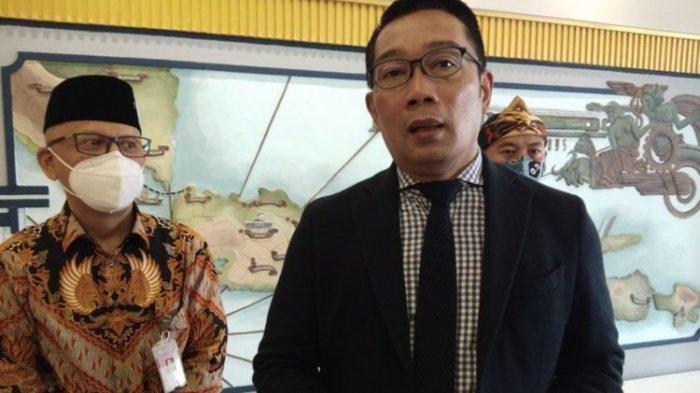 ILUSTRASI - Gubernur Jawa Barat Ridwan Kamil saat ditemui usai menghadiri acara West Java Investment Summit (WJIS) 2020 di Hotel Savoy Homan, Kota Bandung, Selasa (17/11/2020).