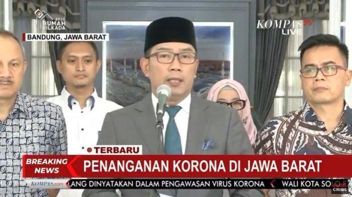 Ridwan Kamil update penanganan Corona di Jawa Barat
