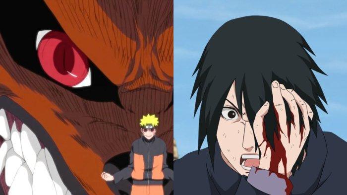 Kematian Kurama dan hilangnya mata Rinnegan Sasuke