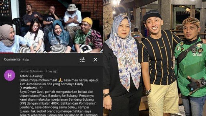 Risa Saraswati Akhirnya Temui Driver Ojol Viral Yang Alami Kisah Mistis Goncengkan Sosok Cindy Tribunnewswiki Com Mobile