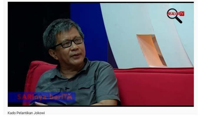Rocky Gerung minta pendukung Jokowi usir Prabowo Subianto