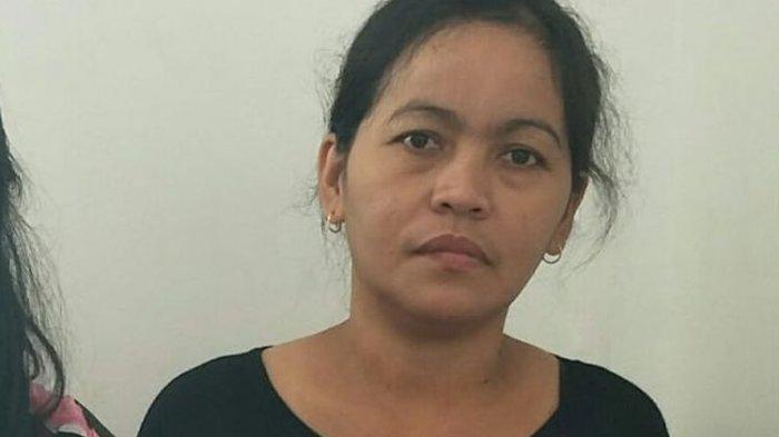 Rosminah, Ibu Akbar di RSPAD Jakarta Pusat, Rabu (9/10/2019)