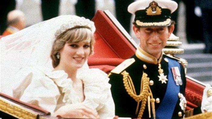 Pangeran Charles dan Putri Diana menikah pada 29 Juli 2981.