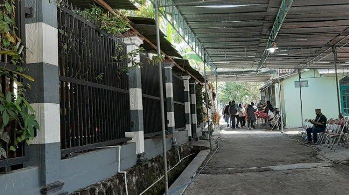 Rumah Duka Dalang Ki Seno Nugroho di Sedayu Bantul Rabu (4/11/2020).