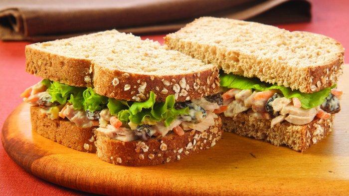 Sandwich roti gandum