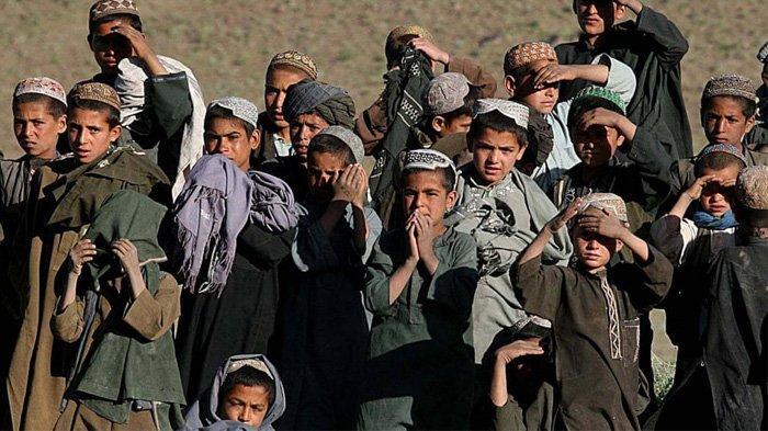 Anak laki-laki Afghanistan di provinsi Uruzgan, tempat pasukan khusus Australia dikerahkan antara 2006 dan 2016.