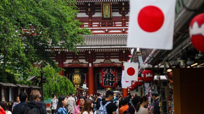 FOTO: Ilustrasi sebuah wilayah di Jepang
