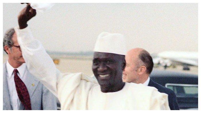 Sekou Toure, presiden pertama Republik Guinea