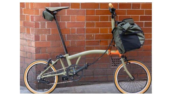 Sepeda Brompton Explore Edition