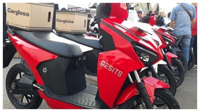 Sepeda motor listrik Gesits