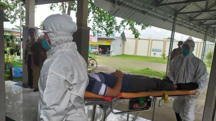 ilustrasi - Simulasi Penanganan Pasien Pengidap Virus Covid-19 di RSUD Margono Purwokerto