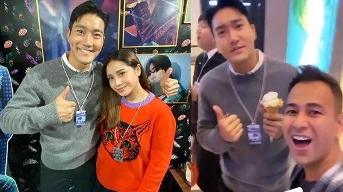 Setelah berfoto bersama, Siwon Super Junior kaget lihat jumlah follower Raffi Ahmad dan Nagita Slavina: oh my god, Amazing!