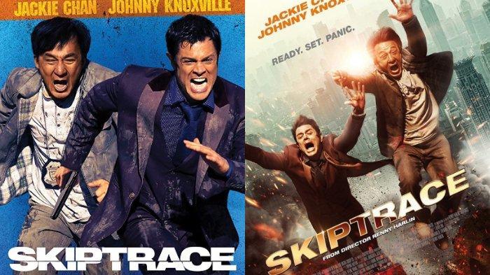 Poster film Skiptrace (IMDb.com)