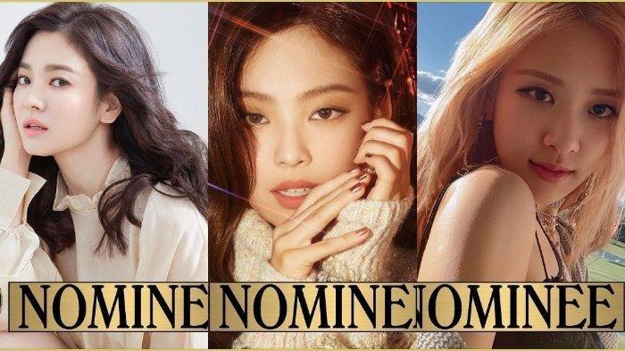 Song Hye Kyo, Jennie dan Rose Blackpink