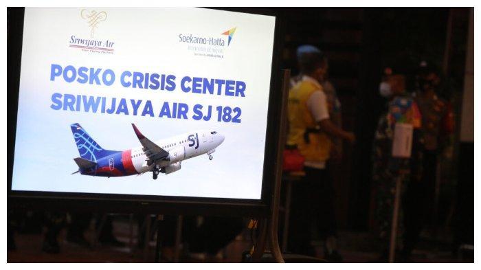 Lokasi yang diduga menjadi tempat jatuhnya pesawat Sriwijaya Air SJ182