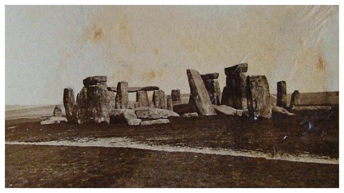 Stonehenge pada tahun 1877